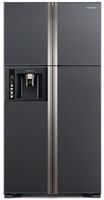 Холодильник Hitachi R-W722 PU1 GGR графитовое стекло