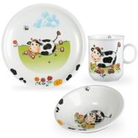 Сервиз детский 3 предмета Kuhe Seltmann Weiden (кружка, тарелка 20 см, салатник 16 см)