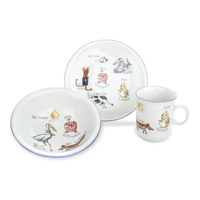 Сервиз детский 3 предета Tierwelt Seltmann Weiden (кружка, тарелка 20 см, салатник 16 см)