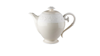 Чайник/Кофейник из фарфора 1,25 л «Джорджия Айвори» JL Coquet 00000056472