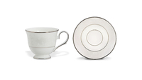 Фарфоровая чашка чайная с блюдцем «Чистый опал» Lenox 180 мл 00010525128