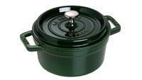 Кокот круглый Staub 20 см 2,2 л зеленый базилик 1102085