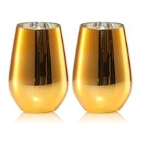 Набор стаканов для воды 397 мл цвет золотой 2 штуки серия Vina Shine SCHOTT ZWIESEL 120 110-2