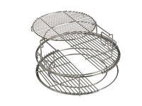 Набор многоуровневых стальных решеток - 5 частей BigGreenEgg (Large)