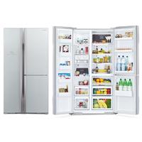 Холодильник Hitachi R-M 702 PU2 GS серебристое стекло
