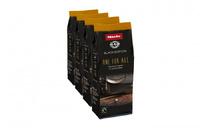 Кофе Miele натуральный обжареный в зернах OneForAll 4 x 250 г