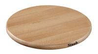 Подставка под горячее Staub деревянная магнитная круглая 23 см 41190742