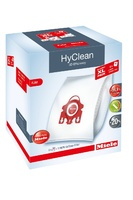 Мешки-пылесборники Miele Allergy XL Pack 2 HyClean FJM + фильтр HA50