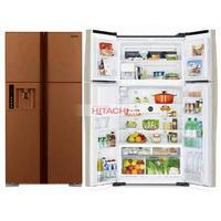 Холодильник Hitachi R-W 722 PU1 GBW коричневое стекло