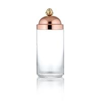 Банка для сыпучих продуктов стекло/медь серия 8000 Stampi & Barattoli RUFFONI 1,5 л