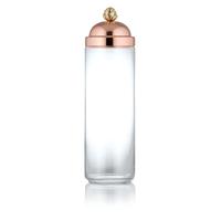 Банка для сыпучих продуктов стекло/медь серия 8000 Stampi & Barattoli RUFFONI 2,0 л