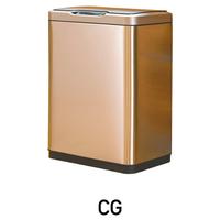 Сенсорное мусорное ведро 50 литров EKO™ золотой шампань EK9278 50L-CG