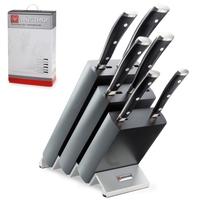Набор ножей 6 предметов в подставке WUESTHOF серия Classic Ikon 9876 WUS