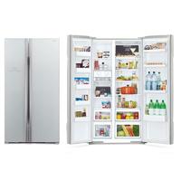 Холодильник Hitachi R-S702 PU2 GS серебристое стекло