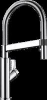 Смеситель Blanco SOLENTA-S Senso хром (рычаг управления справа)