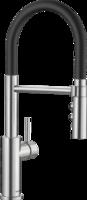 Смеситель Blanco CATRIS-S Flexo нержавеющая сталь