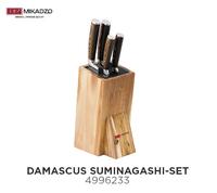 Набор ножей Mikadzo Damascus Suminagashi