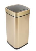 Сенсорное мусорное ведро 35 литров EKO™ золотой шампань EK9288 P-35L-CG