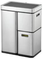 Сенсорное мусорное ведро Eko 60 (30+15+15) литров EKO™, сенсорное, благородная сталь (9338-30+15+15L)