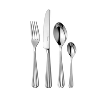 Набор столовых приборов на 6 персон, 24 предмета, сталь 18/10, серия Palm Bright, PALBR1099V/24, ROBERT WELCH, Великобритания