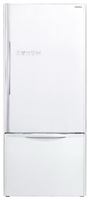 Холодильник Hitachi R-B 572 PU7 GPW белое стекло