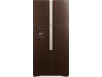 Холодильник Hitachi R-W 662 PU7 GBW коричневое стекло