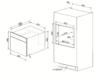 Шкаф скоростного охлаждения и шоковой заморозки Smeg SAB4604NX
