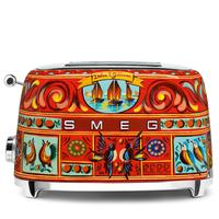 Тостер на 2 ломтика Smeg TSF01DGEU Dolce&Gabbana