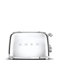 Тостер на 4 ломтика Smeg TSF03SSEU