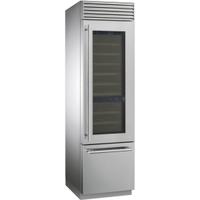 Винный холодильник Smeg WF366RDX нержавеющая сталь